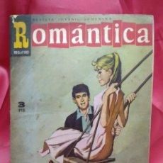 Libros de segunda mano: ROMÁNTICA REVISTA JUVENIL FEMENINA Nº 208. N-2380. Lote 213813982