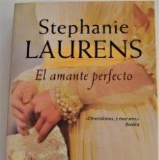 Libros de segunda mano: STEPANIE LAURENS - EL AMANTE PERFECTO - VERGARA- GRUPO ZETA - 1º EDICIÓN 2008 - TAPA BLANDA. Lote 214042807