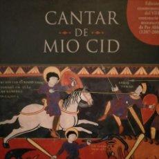 Libros de segunda mano: CANTAR DE MIO CID (RODRIGO DIAZ DE VIVAR,VALENCIA). Lote 214058656