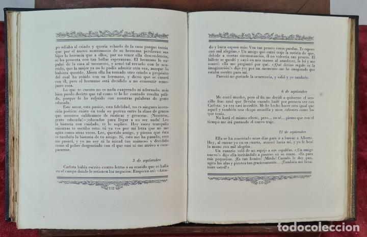 Libros de segunda mano: LAS DESVENTURAS DEL JOVEN WERTHER. GOETHE. EDIT. JUAN VILA. 1945. - Foto 3 - 217218650