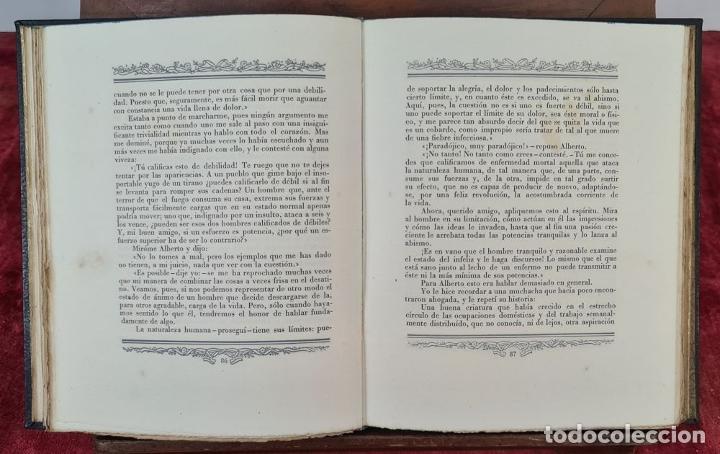 Libros de segunda mano: LAS DESVENTURAS DEL JOVEN WERTHER. GOETHE. EDIT. JUAN VILA. 1945. - Foto 4 - 217218650