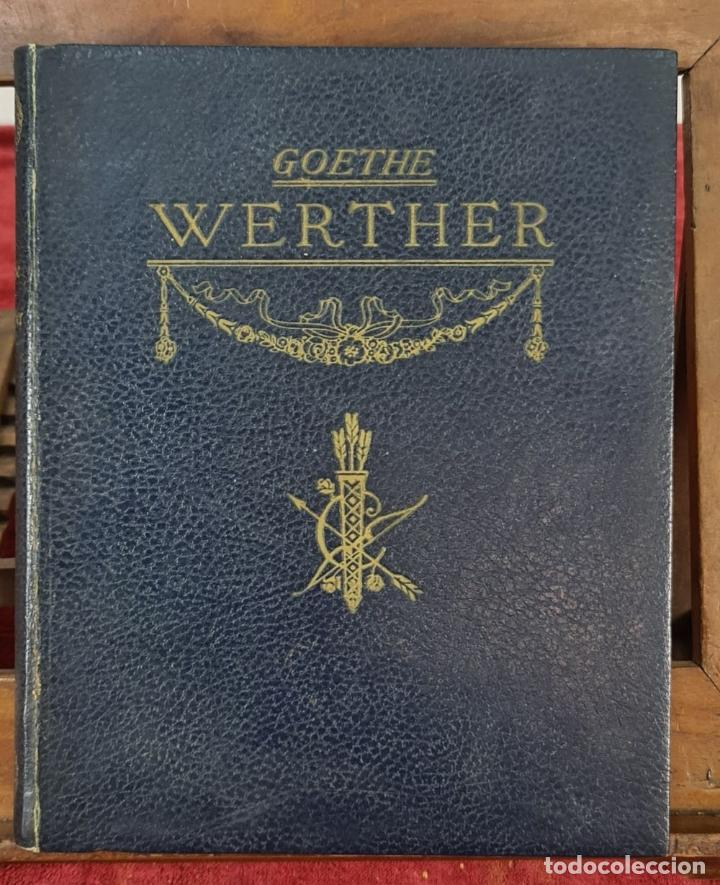 Libros de segunda mano: LAS DESVENTURAS DEL JOVEN WERTHER. GOETHE. EDIT. JUAN VILA. 1945. - Foto 6 - 217218650