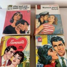 Libros de segunda mano: NOVELAS ROMÁNTICAS. Lote 217832040