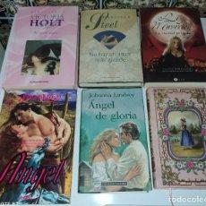 Libros de segunda mano: LOTE 14 LIBROS NOVELAS ROMÁTICAS. Lote 218147516