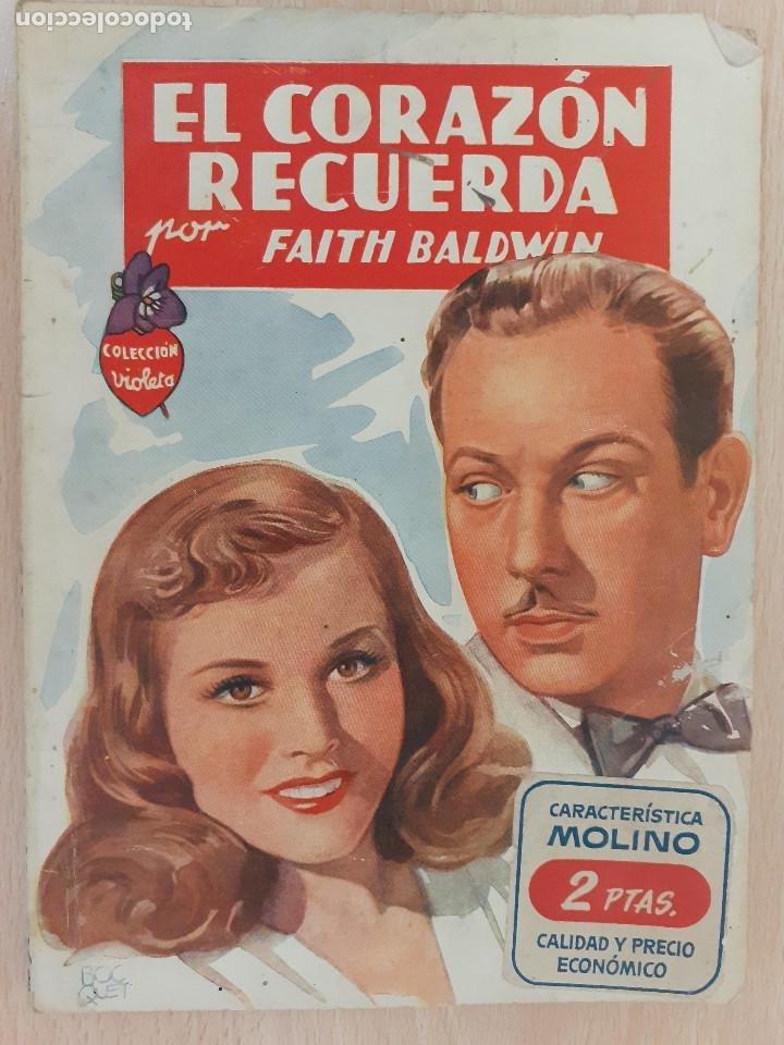 COLECCIÓN VIOLETA Nº 58. FAITH BALDWIN. MOLINO 1948 (Libros de Segunda Mano (posteriores a 1936) - Literatura - Narrativa - Novela Romántica)