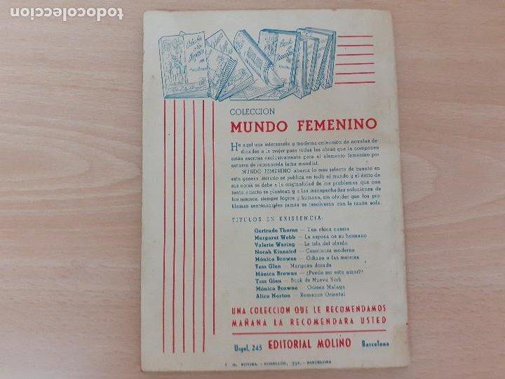 Libros de segunda mano: Colección Violeta Nº 58. Faith Baldwin. Molino 1948 - Foto 2 - 218422132