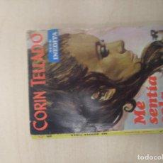 Libros de segunda mano: NOVELA ROMANTICA - CORIN TELLADO - COL. SERIE INEDITA - ME SENTIA SOLA - Nº 145. Lote 218759592