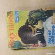 Libros de segunda mano: NOVELA ROMANTICA - CORIN TELLADO - COL. SERIE INEDITA - NO ME OBLIGUES A DECIRLO - Nº 138. Lote 218759868