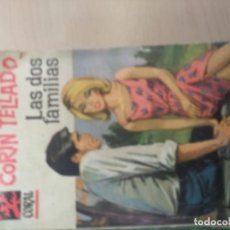 Libros de segunda mano: LAS DOS FAMILIAS. CORÍN TELLADO. Lote 218761342