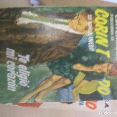 Libros de segunda mano: CORIN TELLADO. TE ELIGIÓ MI CORAZÓN. Lote 218762561