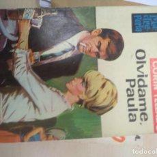 Libros de segunda mano: MADREPERLA. Nº 837. OLVIDAME, PAULA. CORÍN TELLADO. BRUGUERA 1964. Lote 218762625