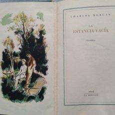 Libros de segunda mano: LA ESTANCIA VACÍA LA PLEYADE (BARCELONA) 1943 PRIMERA EDICIÓN. Lote 219099542