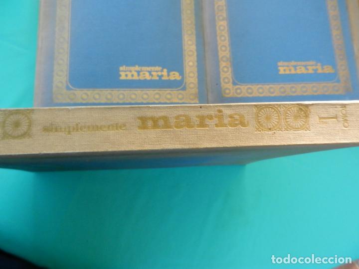 Libros de segunda mano: SIMPLEMENTE MARIA 4 TOMOS EDICIONES SEDMA AÑO 1972 - 81 CAPITULOS -CELIA ALCANTARA - Foto 2 - 221306778