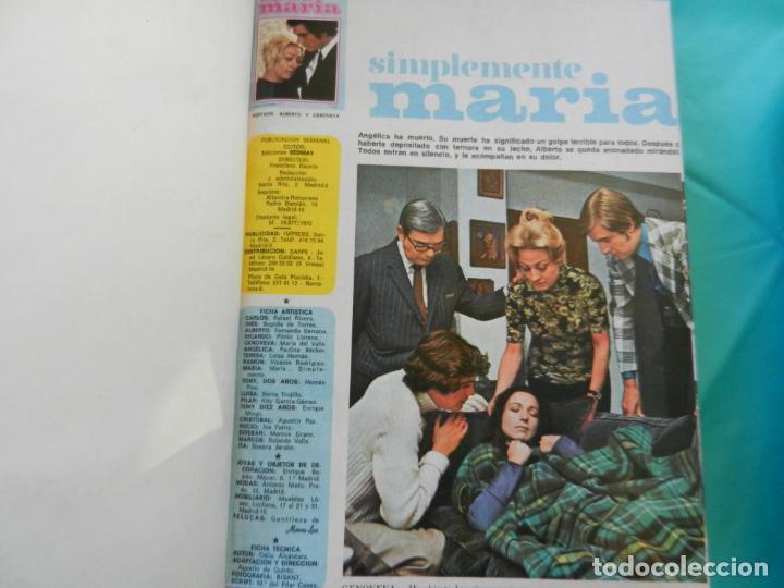Libros de segunda mano: SIMPLEMENTE MARIA 4 TOMOS EDICIONES SEDMA AÑO 1972 - 81 CAPITULOS -CELIA ALCANTARA - Foto 8 - 221306778