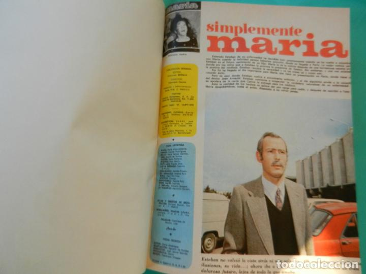 Libros de segunda mano: SIMPLEMENTE MARIA 4 TOMOS EDICIONES SEDMA AÑO 1972 - 81 CAPITULOS -CELIA ALCANTARA - Foto 10 - 221306778