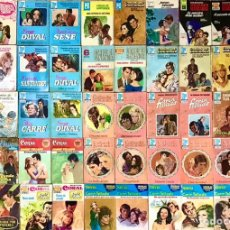 Libros de segunda mano: LOTE DE 75 BOLSILIBROS BRUGUERA AMOR CORIN TELLADO CARLOS DE SANTANDER CAROLA CORAL NOVELA ROMANTICA. Lote 221794546
