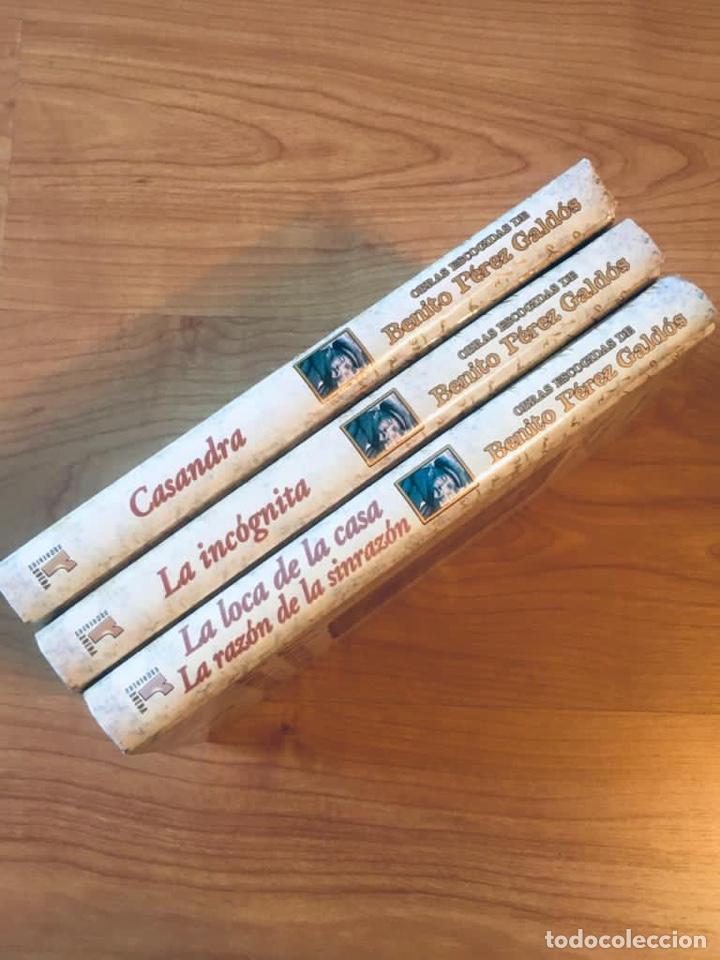 Libros de segunda mano: OBRAS ESCOGIDAS DE BENITO PEREZ GALDOS - CASANDRA - LA LOCA DE LA CASA - LA INCÓGNITA - Foto 2 - 223259581