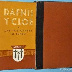 Libros de segunda mano: DAFNIS Y CLOE O LAS PASTORALES DE LONGO.. Lote 224265891