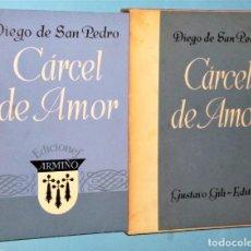 Libros de segunda mano: CÁRCEL DE AMOR. Lote 224265921