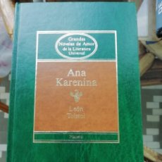 Libros de segunda mano: ANA KARENINA POR LEÓN TOLSTOI. TAPAS DURAS. ED PLANETA. Lote 226491895