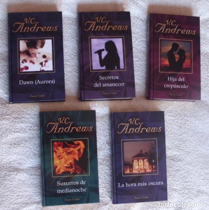 SERIE COMPLETA CUTLER DE W.C. ANDREWS 5 LIBROS COLECCION COMPLETA (Libros de Segunda Mano (posteriores a 1936) - Literatura - Narrativa - Novela Romántica)