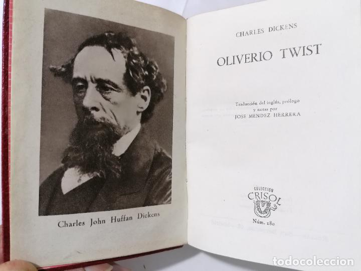 OLIVERIO TWIST POR CHARLES DICKENS, AÑO 1946, EDITOR M. AGUILAR, Nº 180 (Libros de Segunda Mano (posteriores a 1936) - Literatura - Narrativa - Novela Romántica)