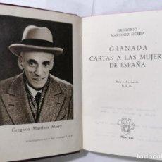 Libros de segunda mano: GRANADA CARTAS A LAS MUJERES DE ESPAÑA, AÑO 1948, COLECCION CRISOL, EDITOR M. AGUILAR, Nº 235. Lote 227865265