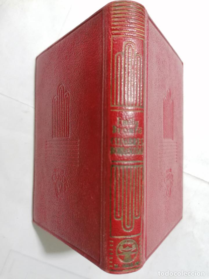 Libros de segunda mano: CUMBRES BORRASCOSAS POR EMILY BRONTE, AÑO 1947, EDITOR M. AGUILAR, Nº 199, COLECCION CRISOL - Foto 3 - 227870585