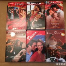 Libros de segunda mano: LOTE 14 NOVELAS ROMANTICAS DESEO. Lote 228334890