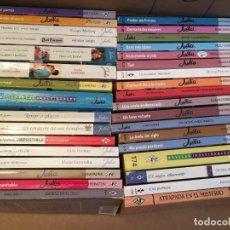 Libros de segunda mano: LOTE 34 NOVELAS ROMANTICAS JULIA. Lote 228335085