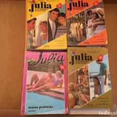 Libros de segunda mano: LOTE 17 NOVELAS ROMANTICAS JULIA. Lote 228335485
