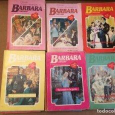 Libros de segunda mano: LOTE 17 NOVELAS ROMANTICAS BARBARA. Lote 228335660