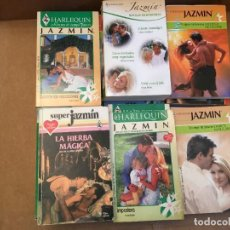 Libros de segunda mano: LOTE 22 NOVELAS ROMANTICAS JAZMIN. Lote 228335820