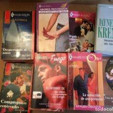 Libros de segunda mano: LOTE NOVELAS ROMANTICAS. Lote 228337085