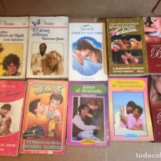 Libros de segunda mano: LOTE 10 NOVELAS ROMANTICAS. Lote 228337675