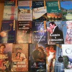 Libros de segunda mano: LOTE 15 NOVELAS ROMANTICAS. Lote 228337855