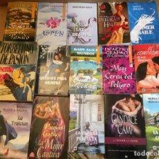 Libros de segunda mano: LOTE 15 NOVELAS ROMANTICAS. Lote 228338015