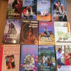 Libros de segunda mano: LOTE 16 NOVELAS ROMANTICAS. Lote 228338165