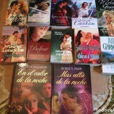 Libros de segunda mano: LOTE 12 NOVELAS ROMANTICAS. Lote 228338270