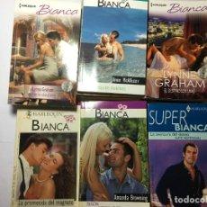 Libros de segunda mano: LOTE 17 NOVELAS ROMANTICAS BIANCA. Lote 228338730