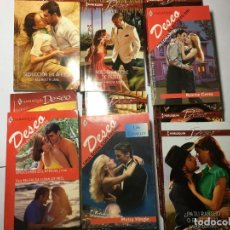 Libros de segunda mano: LOTE 10 NOVELAS ROMANTICAS DESEO. Lote 228338870