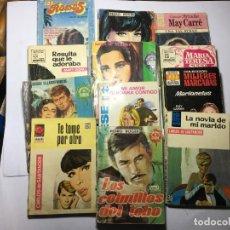 Libros de segunda mano: LOTE 12 NOVELAS ROMANTICAS. Lote 228339340