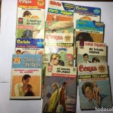 Libros de segunda mano: LOTE 13 NOVELAS ROMANTICAS. Lote 228339505