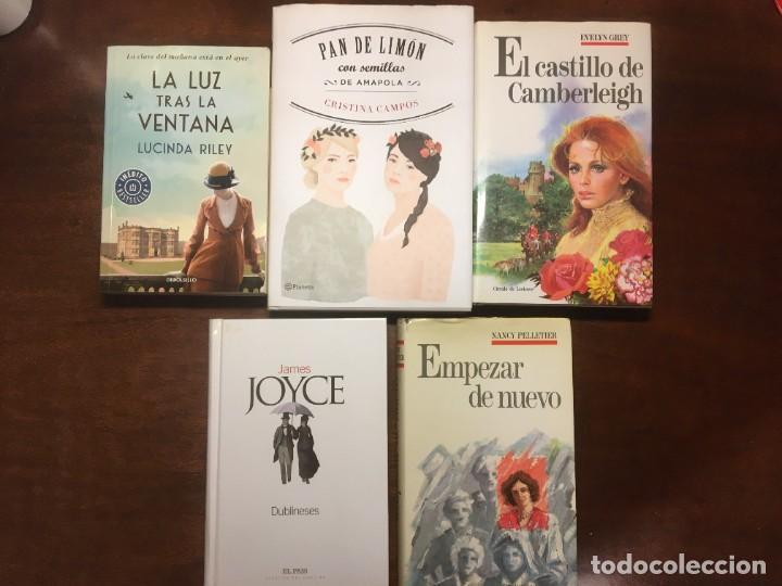 NOVELAS ROMÁNTICAS PAN DE LIMÓN-DUBLINESES-LA LUZ TRAS LA VENTANA-EL CASTILLO DE CAMBERLEIGH, ETC (Libros de Segunda Mano (posteriores a 1936) - Literatura - Narrativa - Novela Romántica)