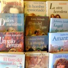 Libros de segunda mano: 12 NOVELAS ROMÁNTICAS DEL CIRCULO DE LECTORES. Lote 231749240