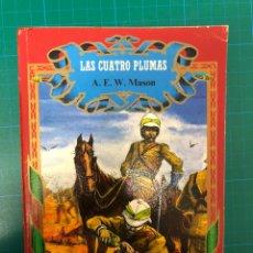 Livros em segunda mão: LAS CUATRO PLUMAS. Lote 233066995
