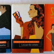 Libros de segunda mano: SEXO EN NUEVA YORK. LOCA POR LAS COMPRAS. MIL DOLORES PEQUEÑOS.. Lote 234741850