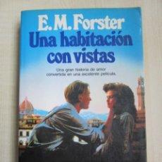 Libros de segunda mano: UNA HABITACIÓN CON VISTAS AUTOR E.M. FORSTER ED. PLANETA. Lote 235408590