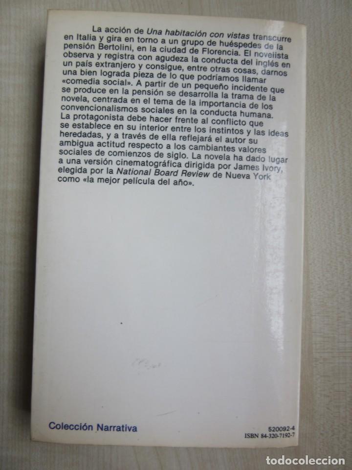 Libros de segunda mano: Una habitación con vistas Autor E.M. Forster Ed. Planeta - Foto 2 - 235408590
