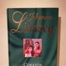 Libros de segunda mano: LIBRO - CORAZON DE TORMENTA - NOVELA ROMANTICA - VIRGINIA HENLEY - ED. RBA. Lote 235611575